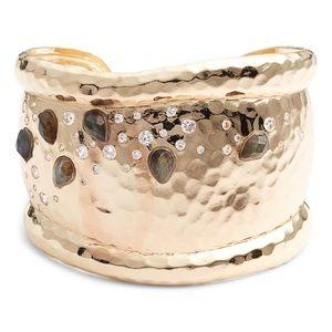 MELINDA MARIA Layla Labradorite & Crystal Bracelet